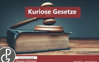 Grafik Kuriose Gesetze Sterben verboten von den Rechtsanwälten Perner und Grüger aus Dorsten