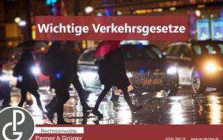Verkehrsregeln gelten auch für Fußgänger und bei Missachtung wird eine Strafe aus dem Bußgeldkatalog fällig erklärt von den Fachanwälten Perner & Grüger aus Dorsten