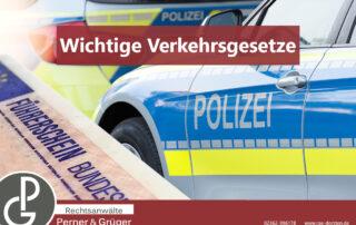Führerscheinentzug oder Fahrverbot angeordnet durch das Verkehrsrecht und den Bußgeldkatalog von den Fachanwälten Perner & Grüger aus Dorsten