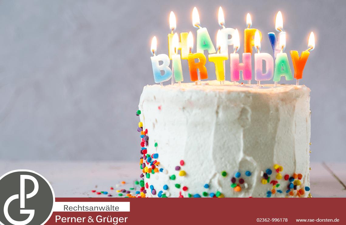 2. Geburtstag der Kanzlei Perner und Grüger